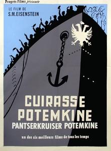 Le cuirassé Potemkine affiche du film