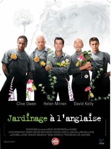 Jardinage à l'anglaise affiche du film