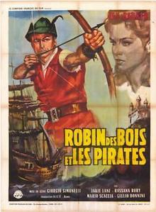 Robin des Bois et les Pirates affiche du film