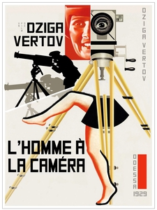 L'Homme à la caméra affiche du film