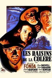 Les raisins de la colère affiche du film