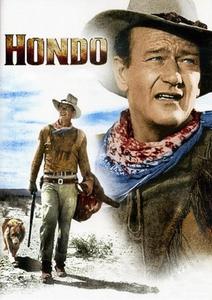 Hondo, l'homme du désert affiche du film
