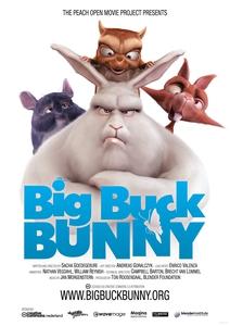 Big Buck Bunny affiche du film