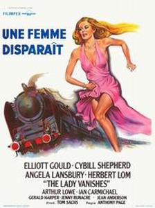 Une femme disparaît affiche du film