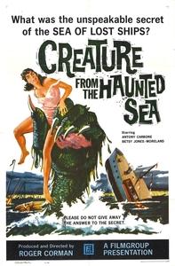 La Créature de la mer hantée affiche du film