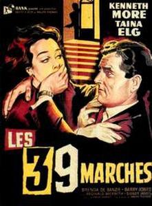 Les 39 Marches affiche du film