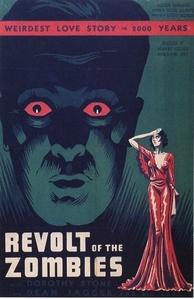 La Révolte des zombies affiche du film