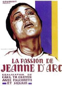 La passion de Jeanne d'Arc affiche du film