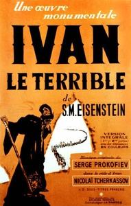 Ivan le Terrible affiche du film
