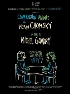 Conversation animée avec Noam Chomsky affiche du film