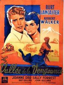 La vallée de la vengeance affiche du film