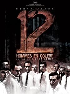 12 hommes en colère affiche du film