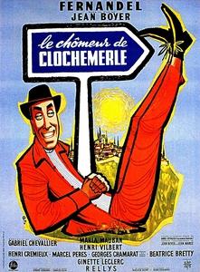 Le Chômeur de Clochemerle affiche du film