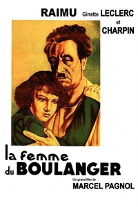 La Femme du boulanger affiche du film