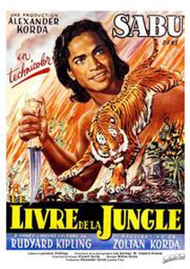 Le Livre de la jungle affiche du film