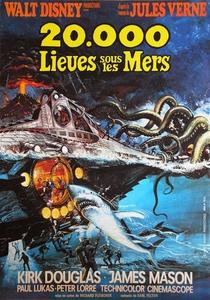 20.000 lieues sous les mers affiche du film