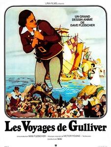 Les Voyages de Gulliver affiche du film