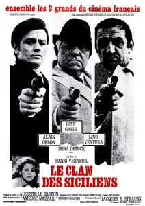 Le Clan des Siciliens affiche du film