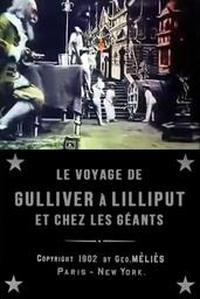 Le voyage de Gulliver à Lilliput et chez les géants affiche du film