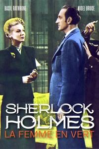 Sherlock Holmes et la femme en vert affiche du film
