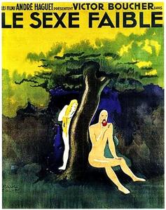 Le sexe faible affiche du film