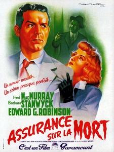 Assurance sur la mort affiche du film