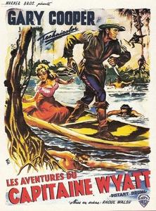 Les aventures du capitaine Wyatt affiche du film